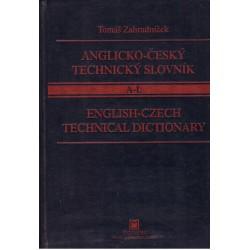 Zahradníček, T.: Anglicko-český technický slovník A-L, M-Z