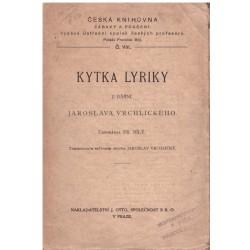 Bílý, F.: Kytka lyriky z básní Jaroslava Vrchlického