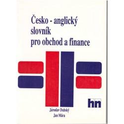 Česko-anglický slovník pro obchod a finance