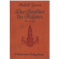 Greinz R.: Das Paradies der Philister
