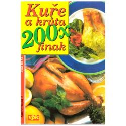 Větvička, V., Větvičková, J.: Kuře a krůta 200x jinak