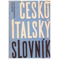 Rosendorfský, J.: Česko-italský slovník