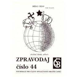 Zpravodaj číslo 44. Informace pro členy Společnosti bratří Čapků